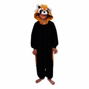 Röd Panda Barn Kigurumi